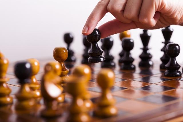 木製のチェス
