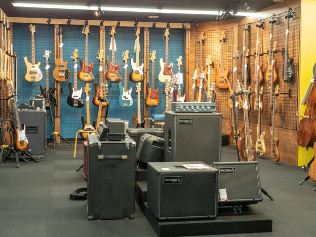 ギターショップバーチーズ_店舗画像