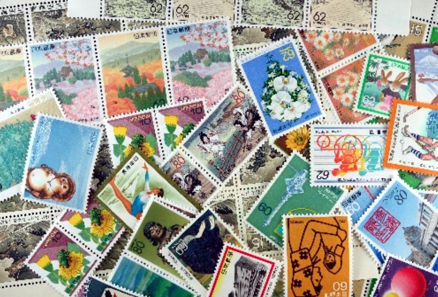 切手 バラ切手 写真