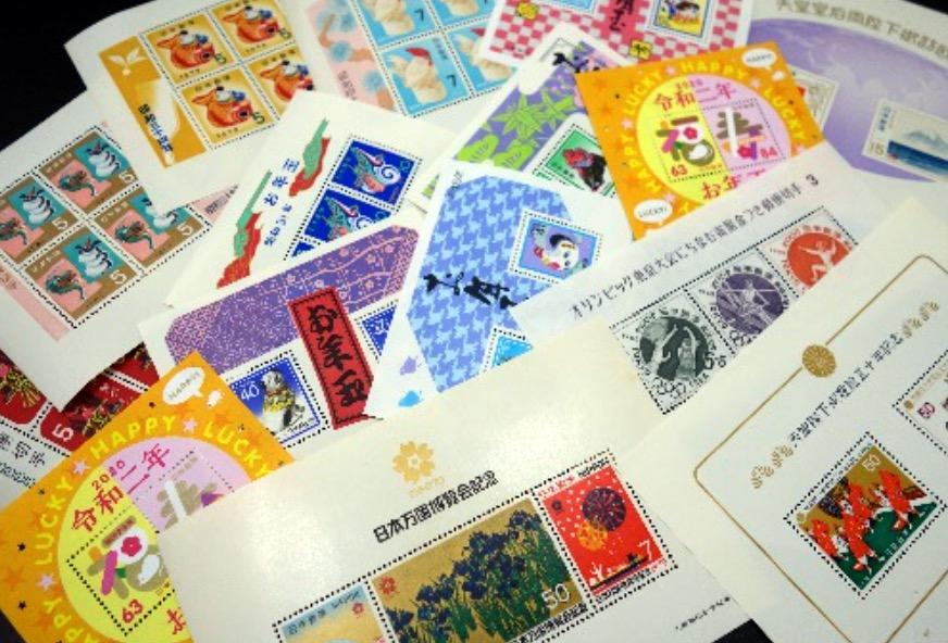 切手 小型シート 写真