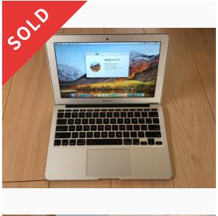 MacBook Air 11インチ 2014(USキーボード)値引き中!