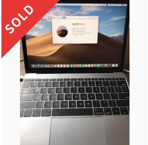 MacBook2017 12インチ 512GB USキーボード【最終値下げ】