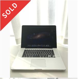 MacBookPro15インチ late2011 i7クアッドコア