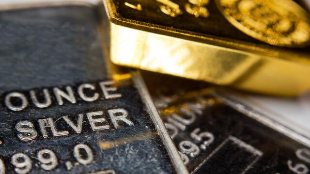 金銀銅のインゴット